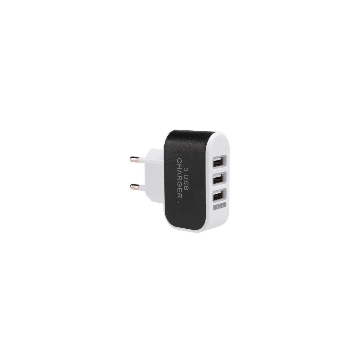 Caricatore a 3 porte USB