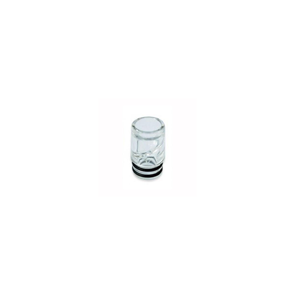 Drip in plastica trasparente con spirale