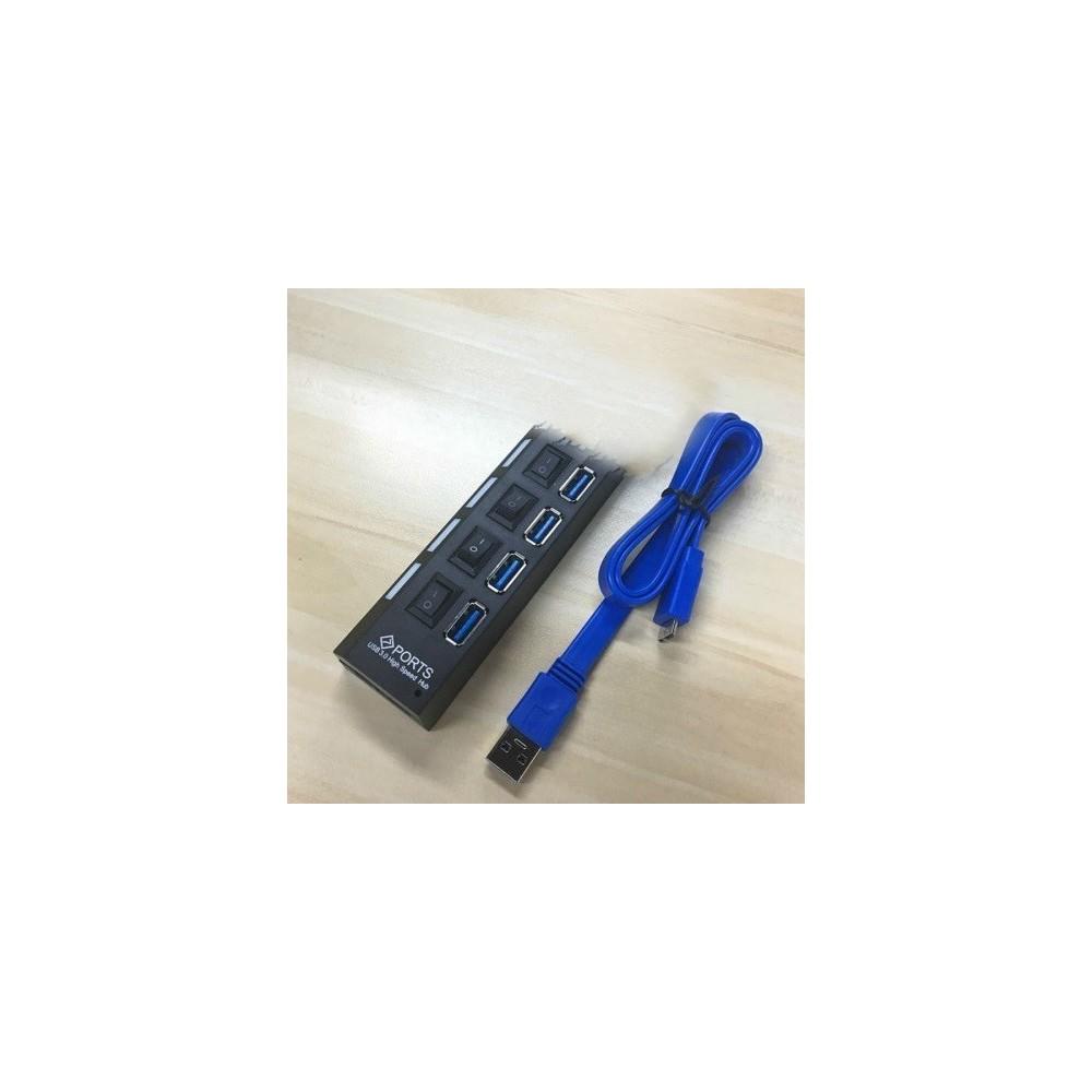 HUB High Speed  USB 3.0 - 4 porte