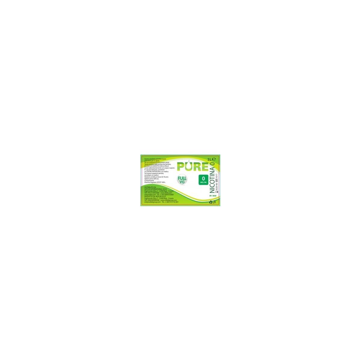 Glicerina Vegetale (VG)  1000ml