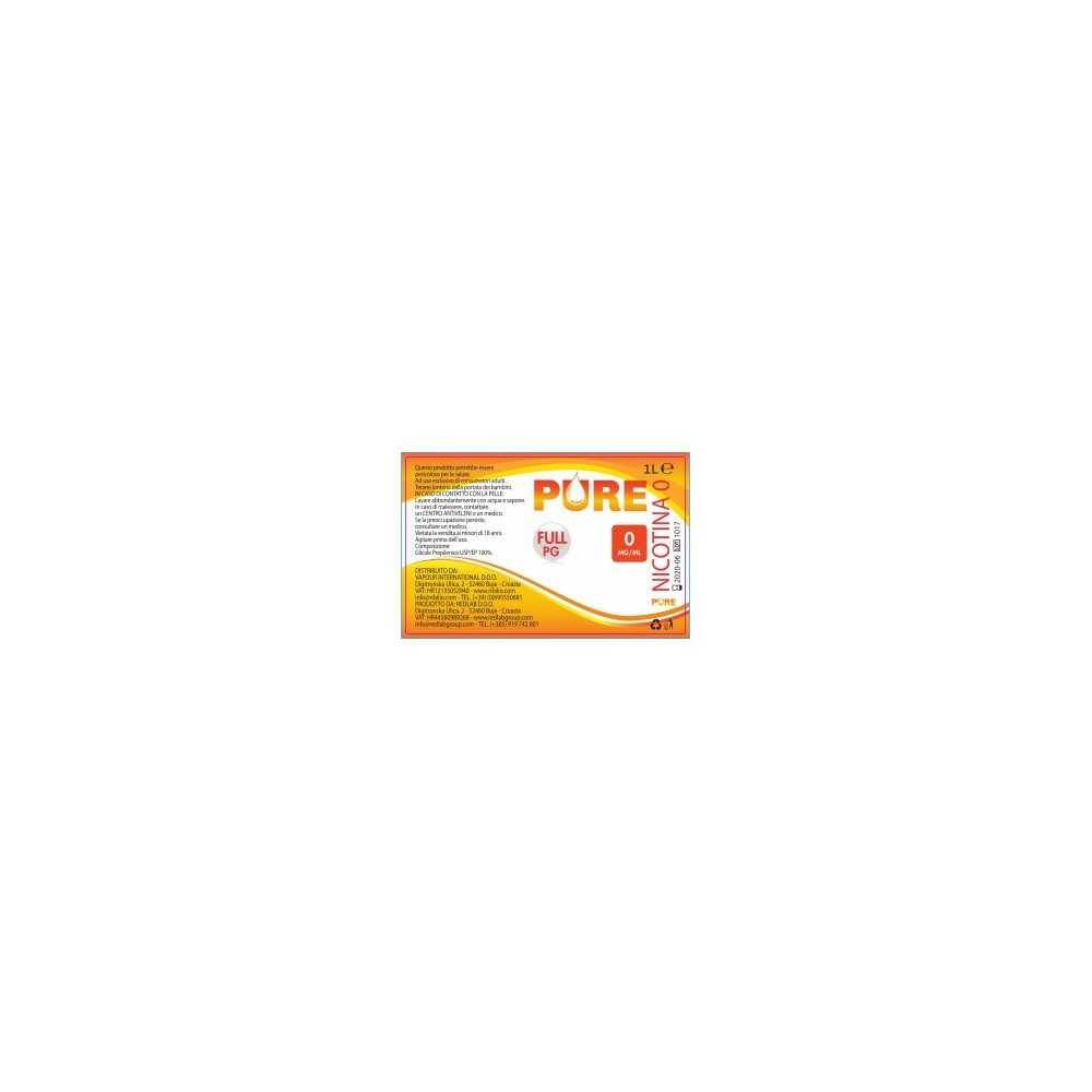 Glicole Propilenico (PG) 500  1000 ml