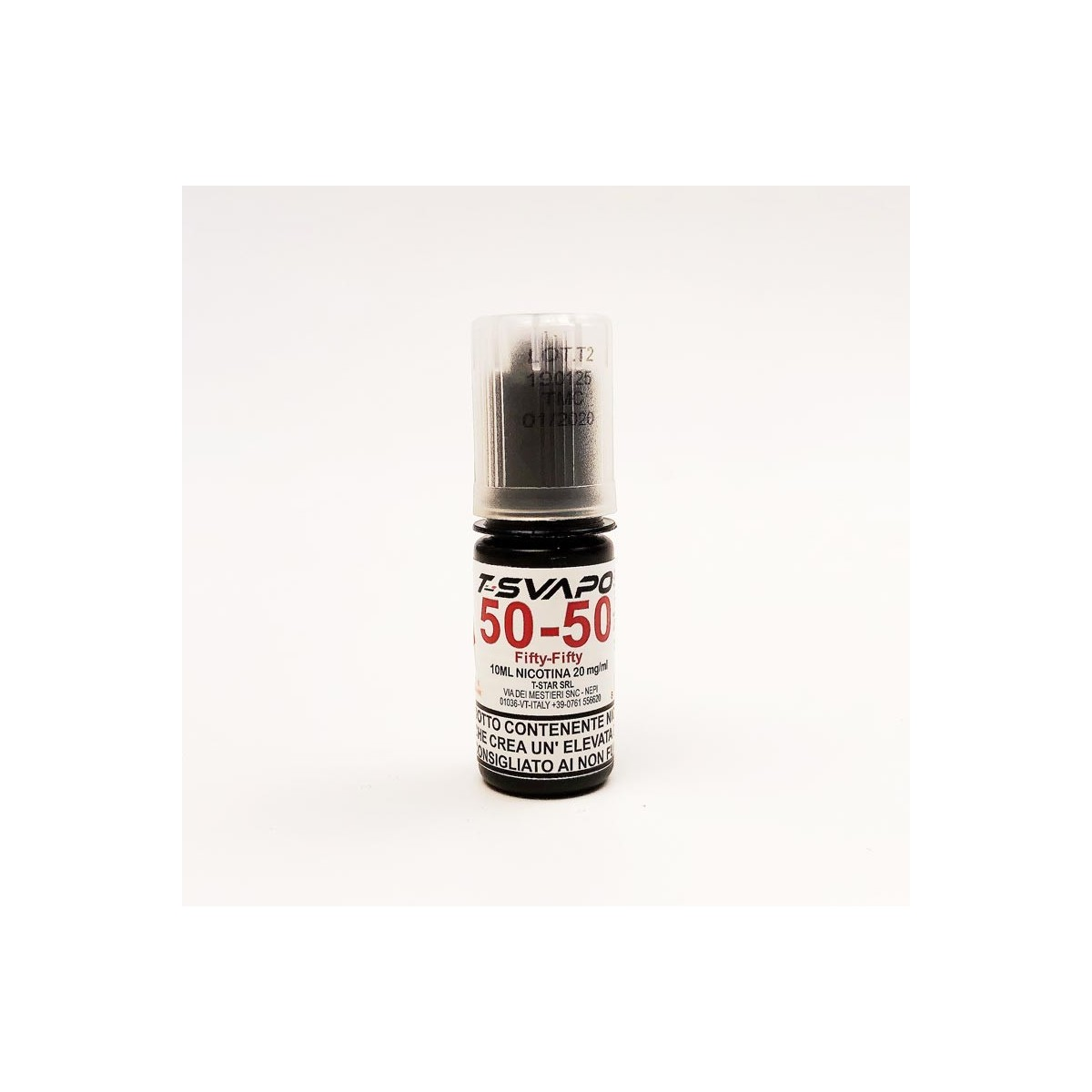 FLACONE BOOSTER FIFTY/FIFTY 10ML NICOTINA 20MG/ML T-SVAPO