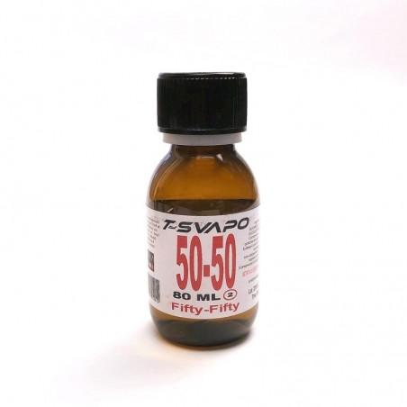 Base Neutra 80ml Senza Nicotina T-Svapo - Fifty/Fifty