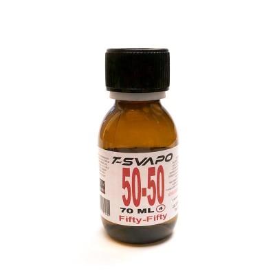 Base Neutra 70ml Senza Nicotina T-Svapo - Fifty/Fifty