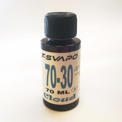Base Cloud 70/30 70ml  T-Svapo - Senza nicotina