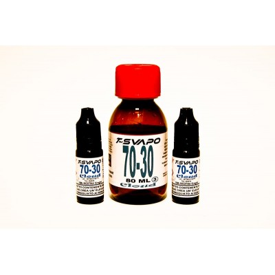 Kit Base Cloud 70/30 100ml  T-Svapo - 3 mg/ml nicotina