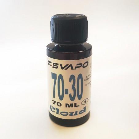 Base Cloud 70/30 70ml  T-Svapo - Senza nicotina