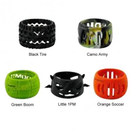 Freemax - Silicone Decorative Ring for 24mm Tank-Orange Soccer