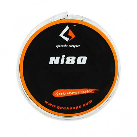 GeekVape - Roll Coil Ni80 Tape Wire 10m-26ga