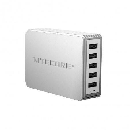 Nitecore - UA55 5-Port QC USB Desktop Adapter