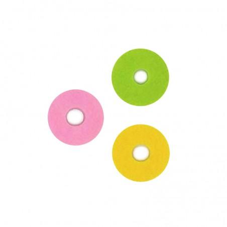 Anelli di protezione condensa (vape sponge) 1pz-Pink-d 25mm