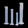 Cilindro graduato in polipropilene con becco - 1 pz-500ml