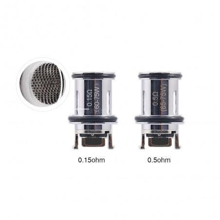 Aspire - Nepho coil ( 3pcs )-0.15 ohm Mesh Coil