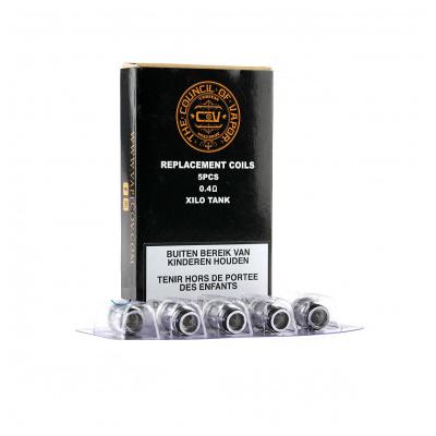 Council Of Vapor - Xilo Tank Coil 5pz-0.4 ohm