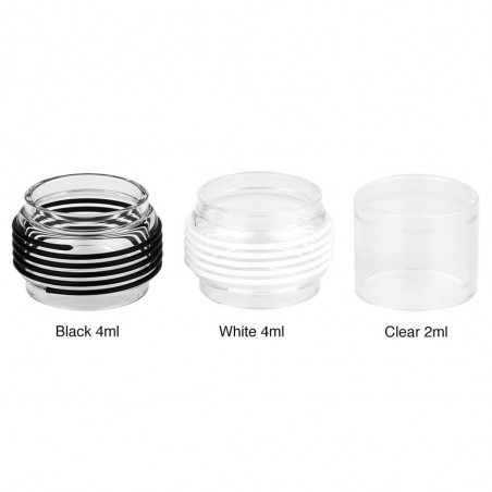 Eleaf - Melo 5 Replacement Tube 2ml/4ml-Black 4ml