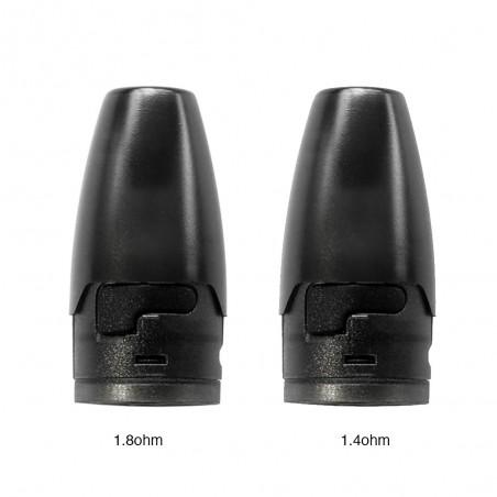 Hotcig - Kubi Refillable Pod Cartridge 1.7ml (x4)-1.4 ohm