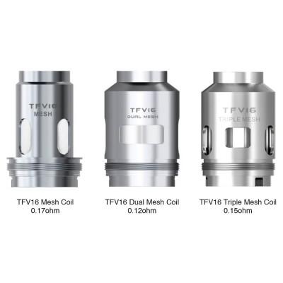SMOK - TFV16 Replacement Coil (x3)-Triple Mesh 0.15ohm