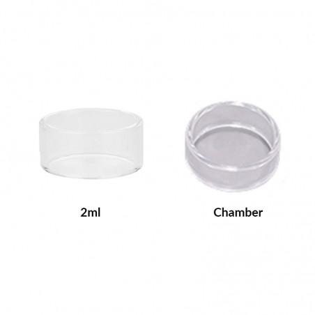 Steam Crave - Glaz Mini RTA Glass Tube (x2)-2ml