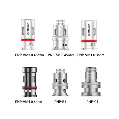 VOOPOO - PnP Coil for Drag Baby Trio (x5)-PnP-R1 0.8ohm