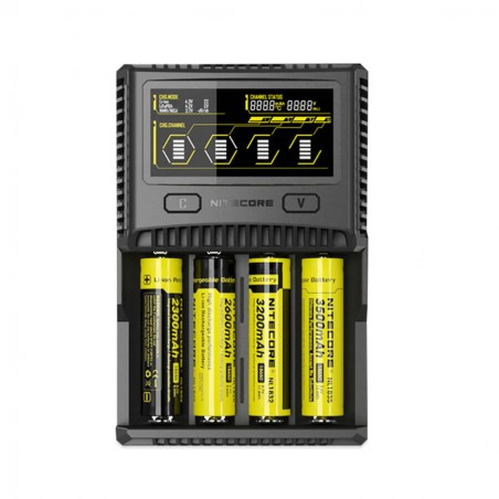 Nitecore Intellicharger SC4 Li-ion/NiMH Battery Charger Euro Plug