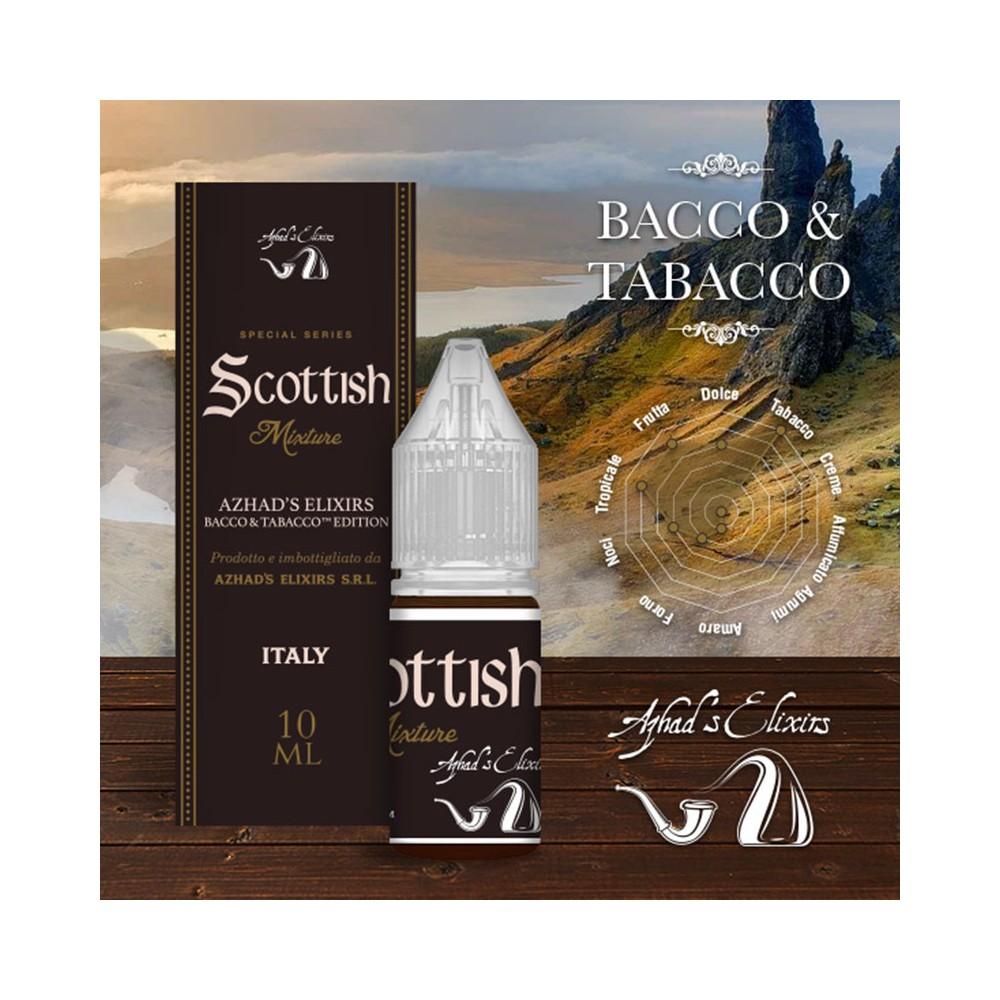 Azhad's Elixirs 10ml - Bacco & Tabacco - Scottish-0mg/ml