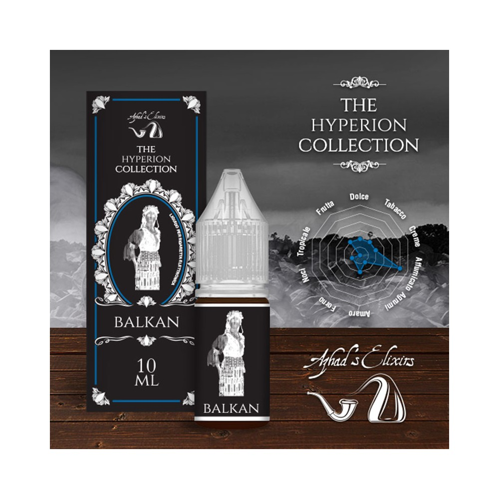 Azhad's Elixirs 10ml - The Hyperion Collection - Balkan-0mg/ml