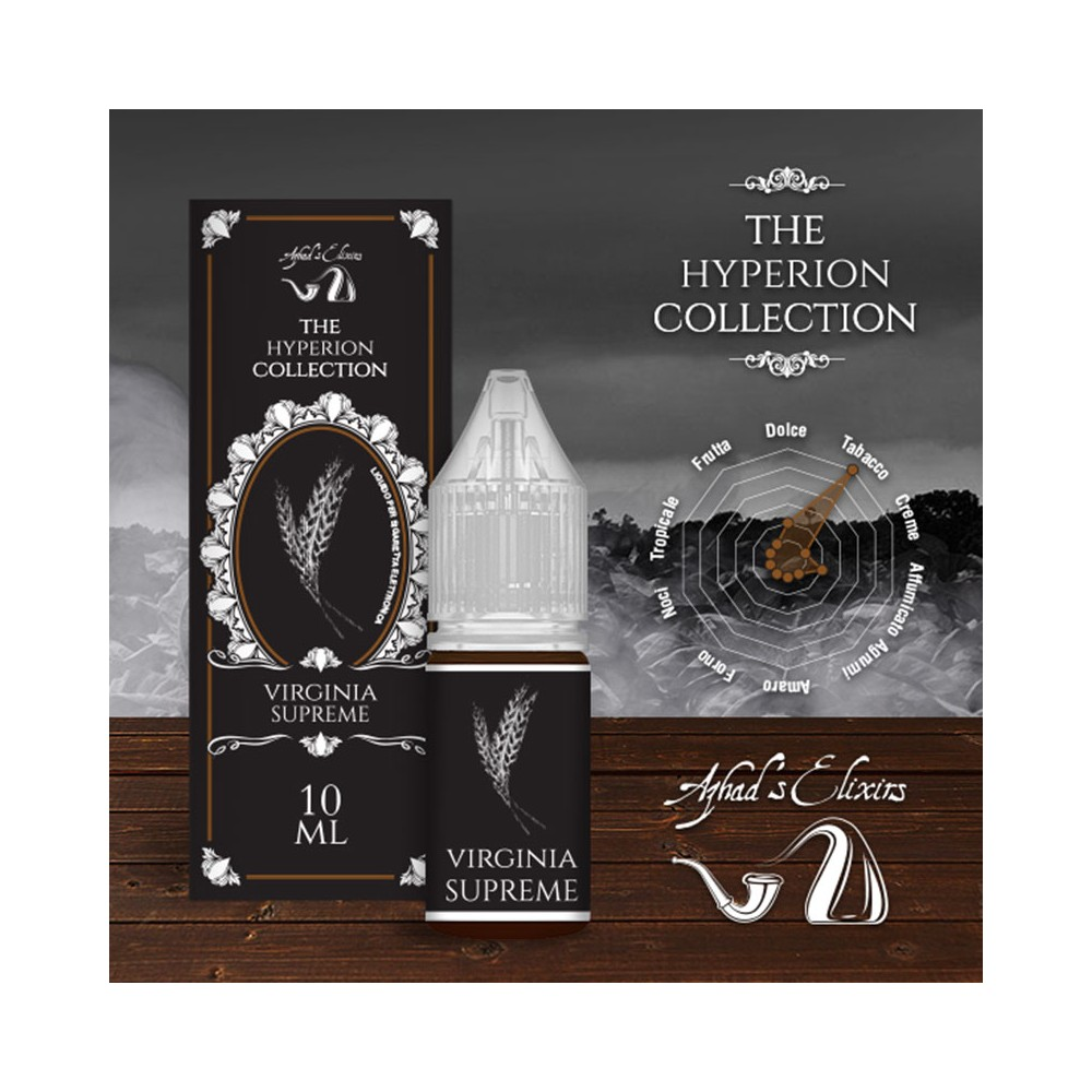 Azhad's Elixirs 10ml - The Hyperion Collection - Virginia Supreme-0mg/ml