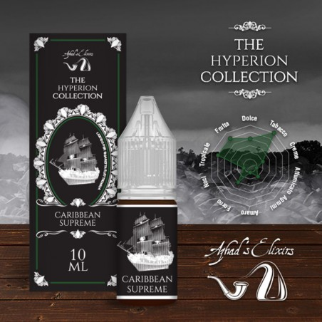 Azhad's Elixirs 10ml - The Hyperion Collectoin - Caribbean Supreme-0mg/ml