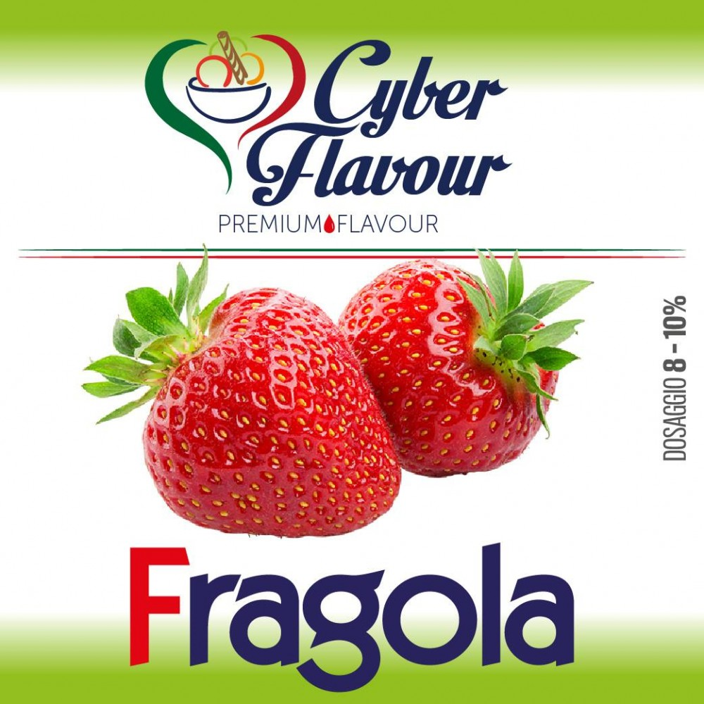 Cyber Flavour - Aroma Fragola 10ml