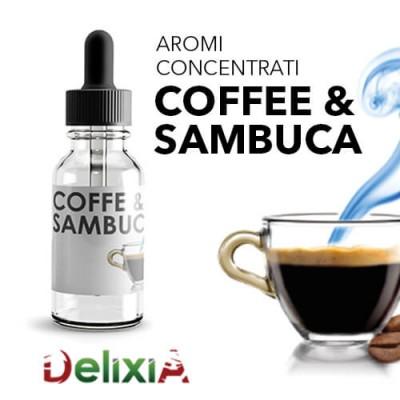 Delixia Aroma 10ml - Coffe E Sambuca