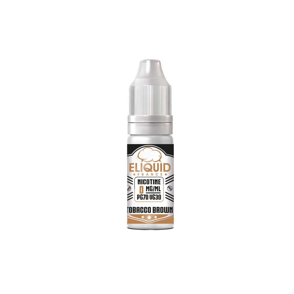 Eliquid France - Tobacco Brown 10ml-0mg/ml