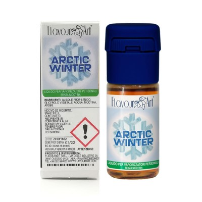 FlavourArt 10ml - Artic Winter-0mg/ml