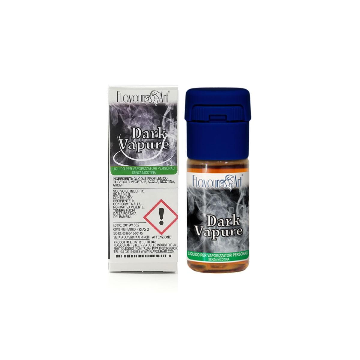 FlavourArt 10ml - Dark Vapure-0mg/ml