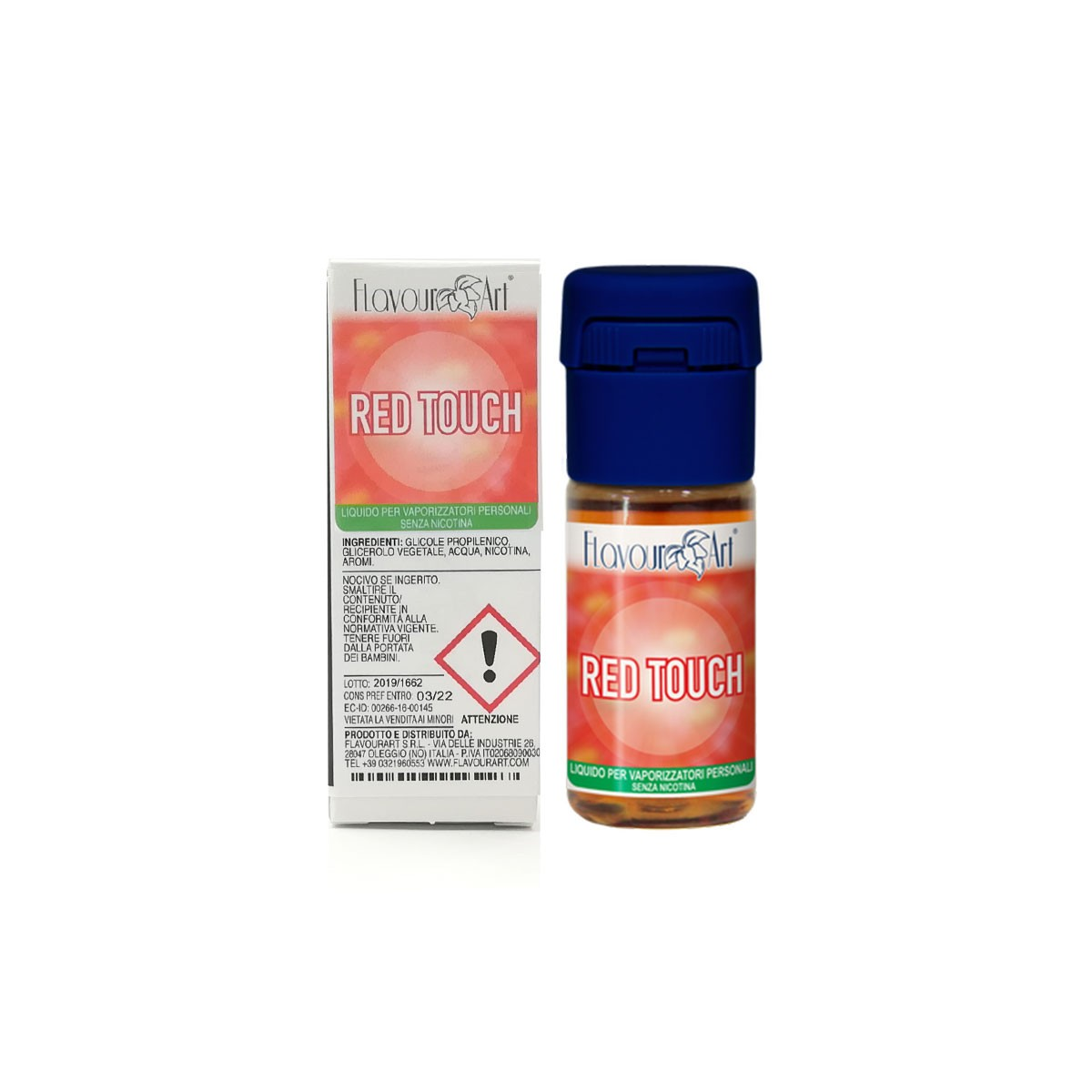 FlavourArt 10ml - Red Touch-0mg/ml