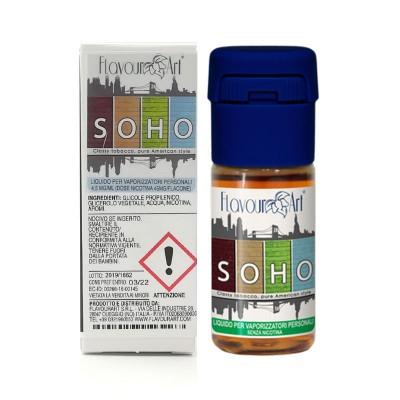 FlavourArt 10ml - Soho-0mg/ml
