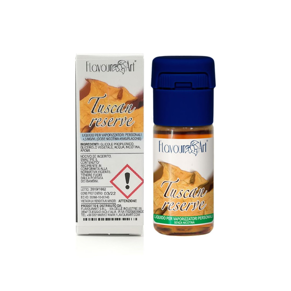 FlavourArt 10ml - Tuscan Reserve-0mg/ml