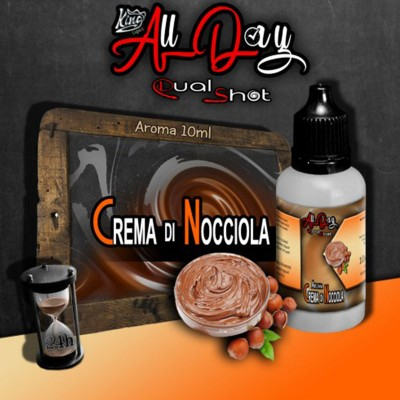 King Liquid - Aroma Dual Shot - Crema di Nocciola 10ml
