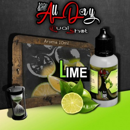 King Liquid - Aroma Dual Shot - Lime 10ml