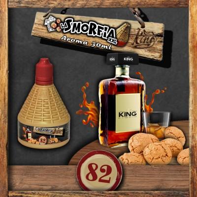 King Liquid - La Smorfia XXL 30ml - N.82