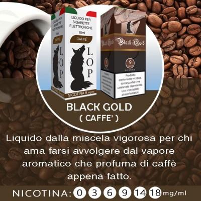 LOP - Black Gold (caffè) 10ml