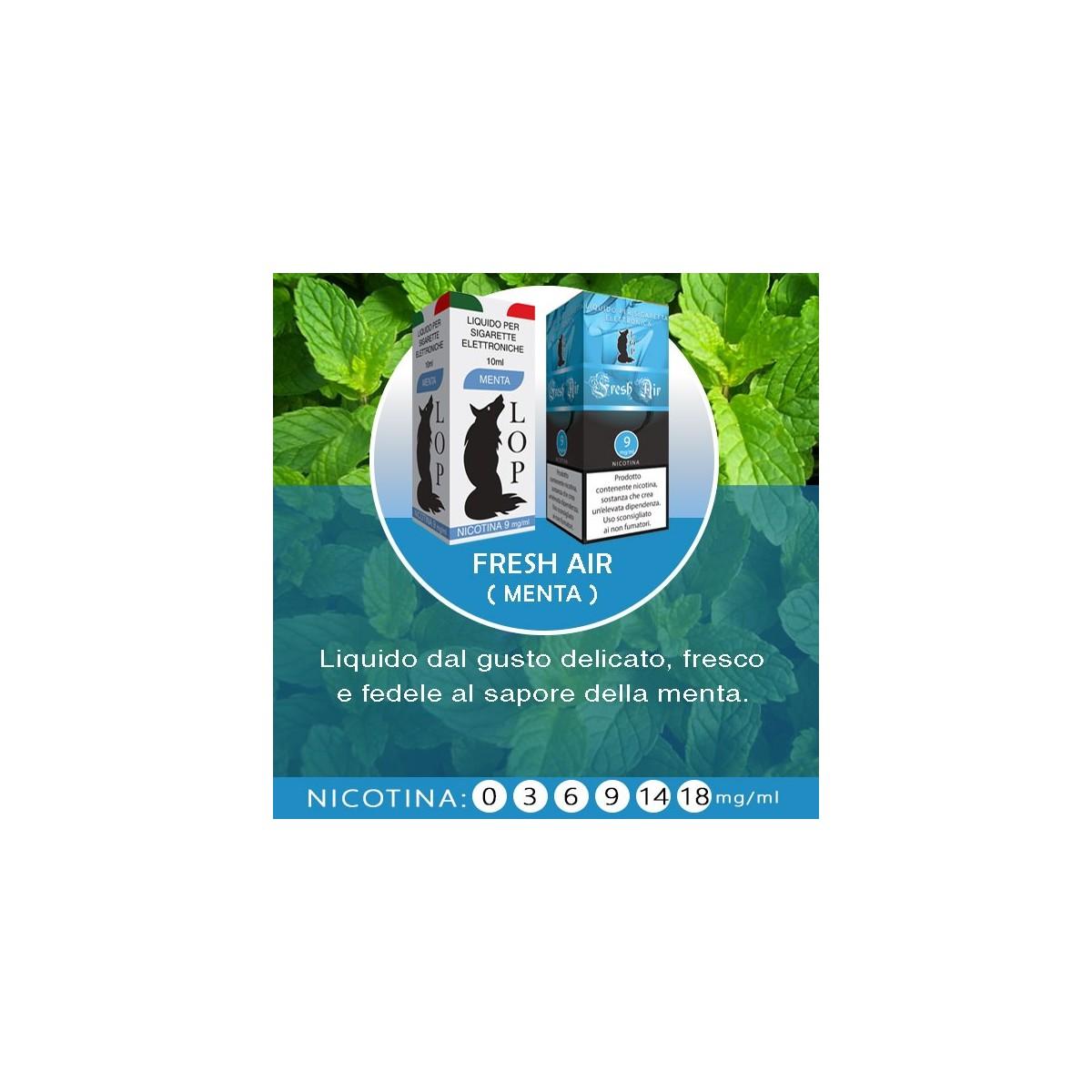 LOP - Fresh Air (menta) 10ml-0mg/ml