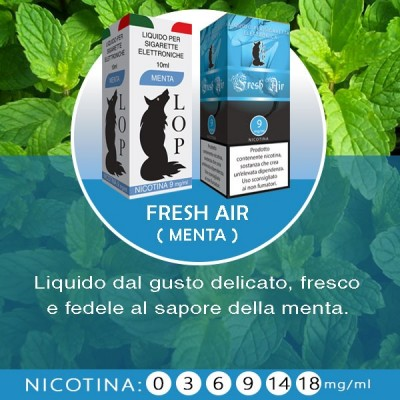 LOP - Fresh Air (menta) 10ml-18mg/ml