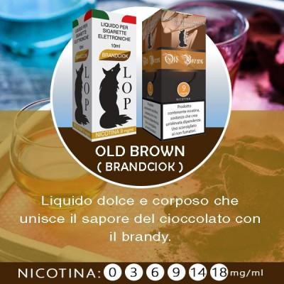 LOP - Old Brown (brandciok) 10ml-0mg/ml