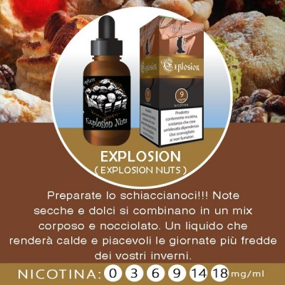 LOP - Osion (Explosion nuts) 10ml-3mg/ml
