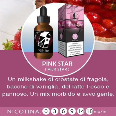 LOP - Pink Star (milk star) 10ml-0mg/ml