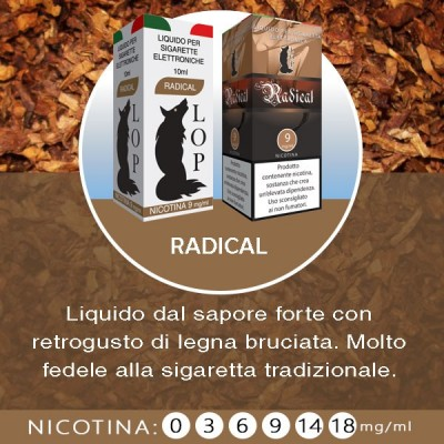 LOP - Radical 10ml-6mg/ml