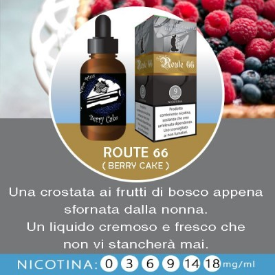 LOP - Route 66 (berry cake) 10ml-0mg/ml