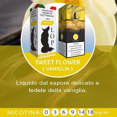 LOP - Sweet Flower (vaniglia) 10ml-0mg/ml