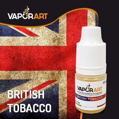 Vaporart 10ml - British Tobacco-0mg/ml