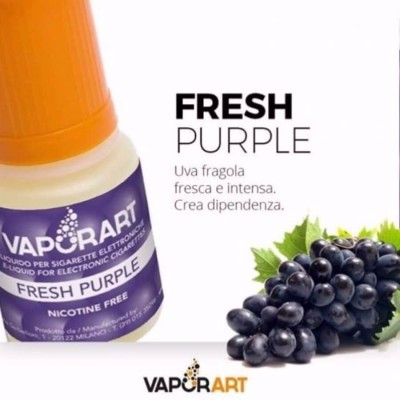 Vaporart 10ml - Fresh Purple-0mg/ml